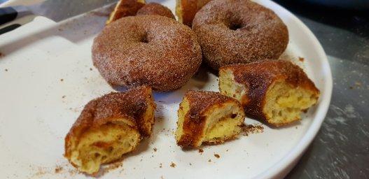 Sourdough Doughnuts!
