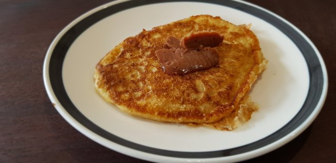 Hotcakes with locally made Jarvis Estate Chocolate butter