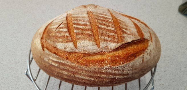 Another fresh loaf just out of the oven